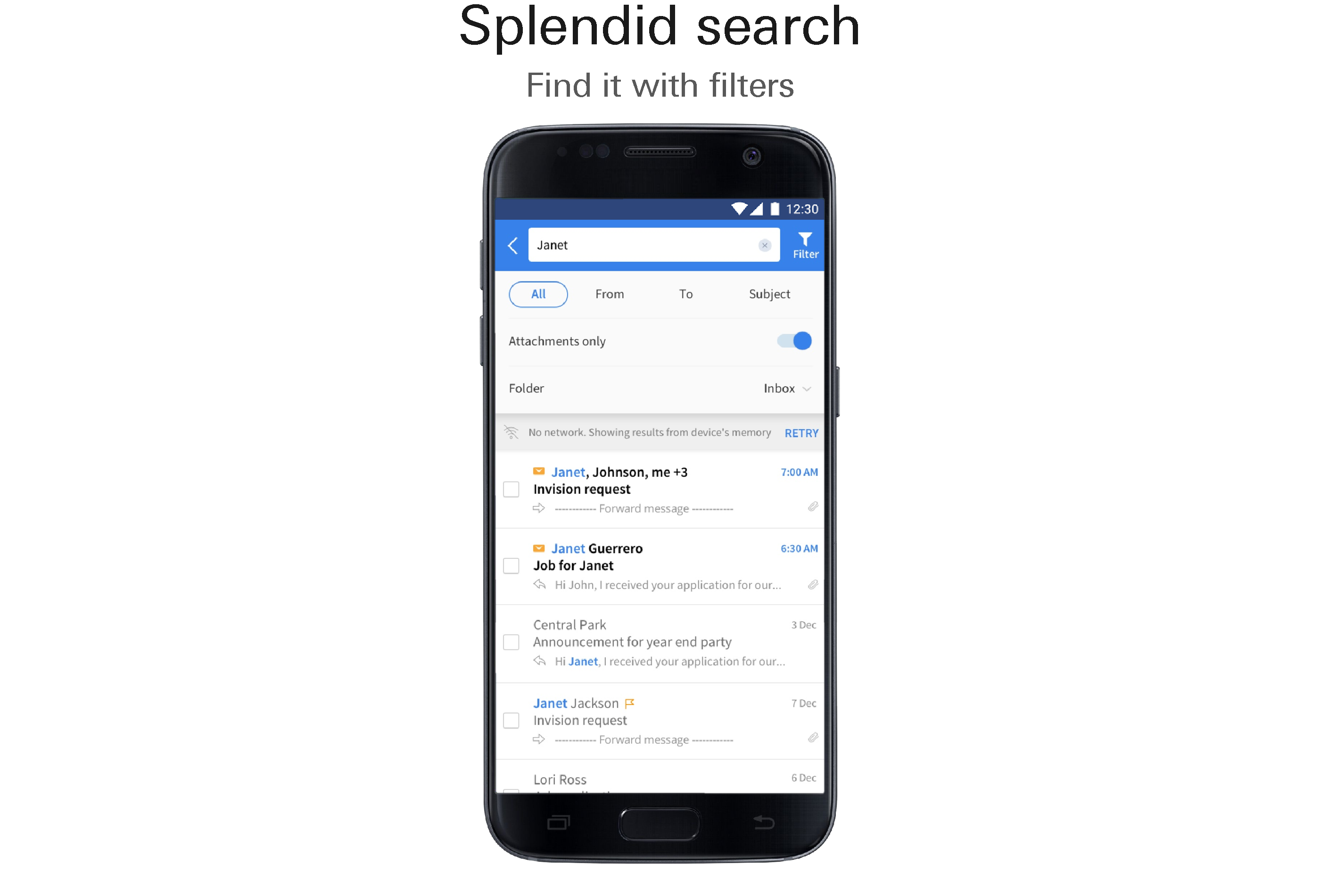 Splendid search